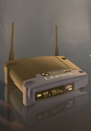 NEW LINKSYS WIRELESS ROUTER for Sale in Woodhull, IL