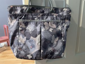 LeSportsac butterfly print tote bag for Sale in NO POTOMAC, MD