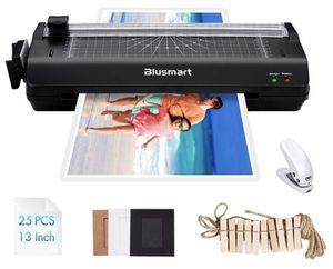 13 inches Laminator, Blusmart Multiple Function A3 Laminator with 25 Laminating Pouches, Paper Cutter, Corner Rounder Laminate for A3,A4,A5,A6 for Sale in Cheshire, CT