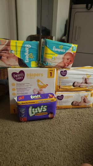 Size 1 Diapers for Sale in Phoenix, AZ