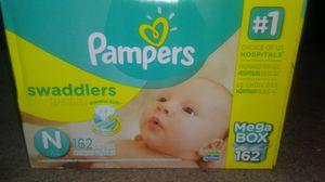 Newborn diapers for Sale in Wichita, KS