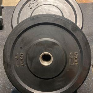 45Lb Bumper Plates for Sale in Paramount, CA