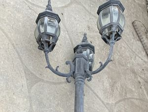 Light post (free) for Sale in Hollister, CA