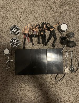 2004 MOTLEY CRUE ROCK BAND ACTION FIGURE TOYS MCFARLANE SET OF 4 for Sale in Las Vegas, NV