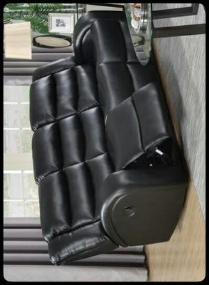 ✔SAME DAY DELIVERY✔ Oniks Black Reclining Sofa for Sale in Washington, DC