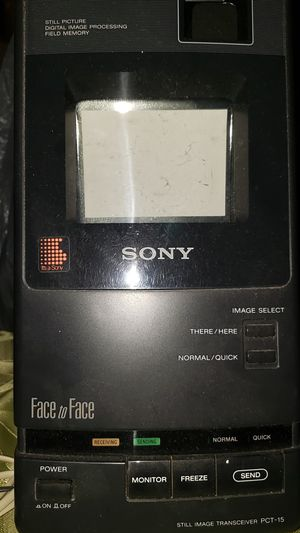 SONY Face to Face PCT-15 for Sale in North Miami Beach, FL