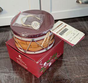 2012 Longaberger Little Red Drum Basket Set for Sale in Durham, NC