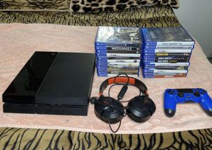 PS4 + 4 Games of your choice for Sale in Santa Ana, CA