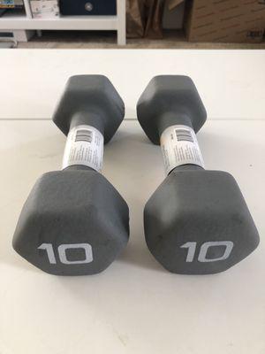10 lb dumbbells (20lb set) NEW for Sale in Portland, OR