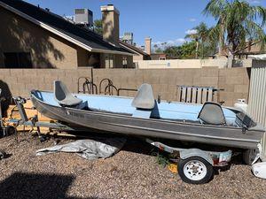14' Aluminum Fishing Boat for Sale in Gilbert, AZ