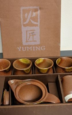NEW Timing Ceramic 7 Piece Tea Set for Sale in Los Angeles,  CA