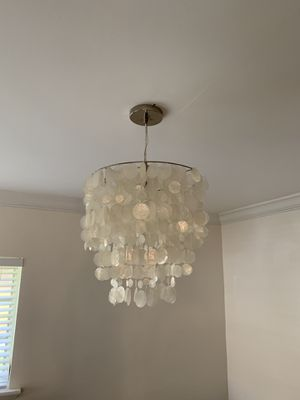 Seashell Chandelier Ceiling Light for Sale in Coral Gables, FL