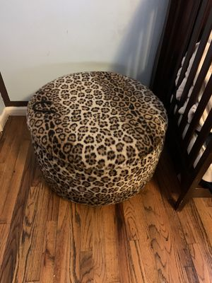 Leopard ottoman for Sale in New York, NY