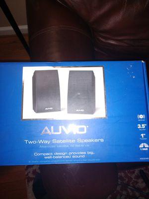 Auvio Two Way Satellite Speakers for Sale in Atlantic Highlands, NJ