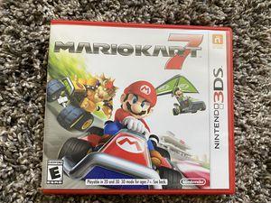 Nintendo 3DS Mario Kart 7 for Sale in Fresno, CA