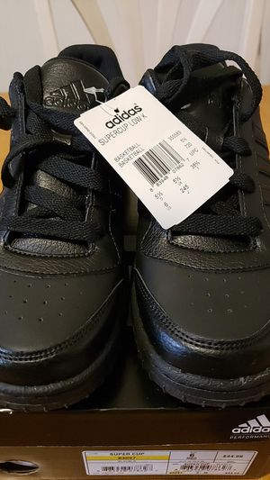 Adidas Size 6 Men's Blk Supercup Low Basketball Shoe for Sale in Somerville, MA