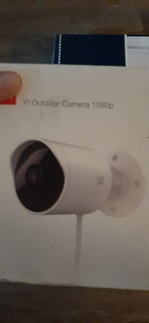 YI outdoor camera for Sale in Seattle, WA