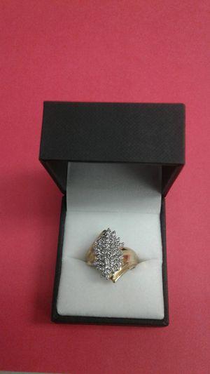 10k diamond women's cluster ring $1000 for Sale in Atlanta, GA