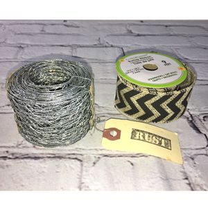Chicken Wire & Burlap Ribbon for Sale in Puyallup, WA