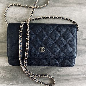 Chanel Black Quieted Caviar WOC for Sale in Hollywood, FL
