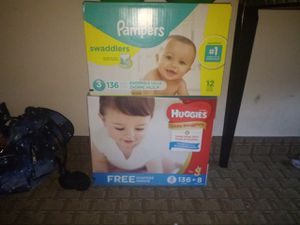 Huggies and Pampers for Sale in Fountain, CO