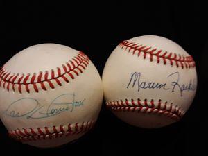 Signed baseballs for Sale in Hermon, ME