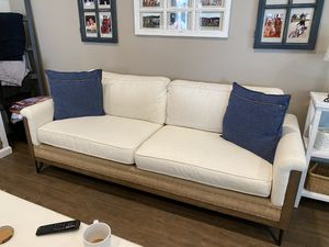 Magnolia Home Joanna Gaines 3 piece couch set from Living Spaces for Sale in Fullerton, CA