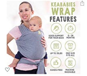 Baby wrap carrier for Sale in Fort Pierce, FL