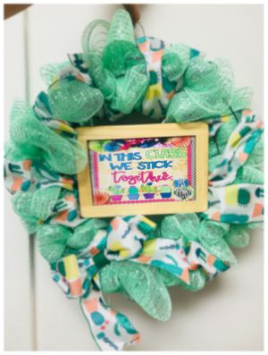 Custom wreaths for that special teacher or special person $45 custom to your liking for Sale in Fort Myers, FL