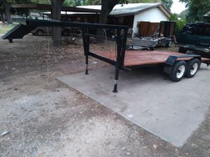 16' 5th wheel flatbed trailer for Sale in Azle, TX