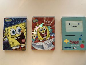 Spongebob & Adventure Time for Sale in Houston, TX