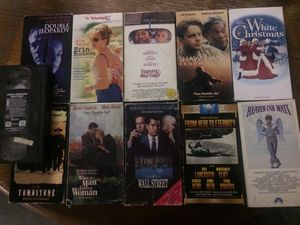 Collection of CLASSIC movies VHS for Sale in Evansville, IN