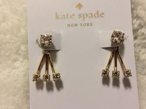 New Kate Spade Dainty Sparkler Ear Jacket Earrings for Sale in Garrison, MD