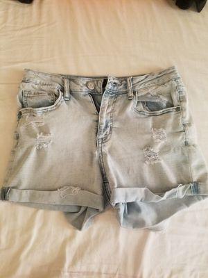 Size 4 blue Jean shorts aeropostale for Sale in Houston, TX