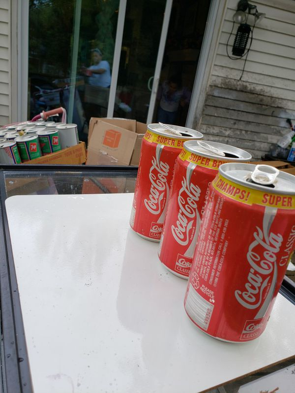Cocacola classic REDSKINS SUPER BOWL