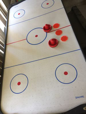 """48"""" Air Powered Hockey Table, LED Electronic Scorer, Black/white for Sale in Upland, CA"""