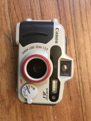Canon 35mm A1 sureshot / wp 1 film camera for Sale in Brooklyn, NY