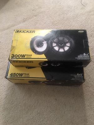 Kicker speakers for Sale in Accokeek, MD