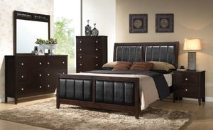 Modern Queen Bedroom Set (ONLY $54 DOWN) for Sale in Dallas, TX