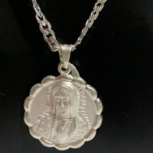 Virgen De Guadalupe Plata 925 for Sale in Downey, CA