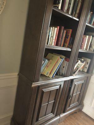 Two oak wood bookshelves for Sale in Canton, GA