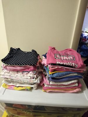 Used baby girl sleepers and onesies 50 onesies+ 23 sleeper 60 .00 for Sale in Germantown, MD