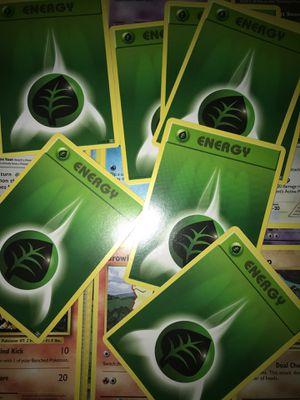Grass type Energy Pokémon card s for Sale in Las Vegas, NV