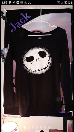 Disney The Nightmare Before Christmas Jack Skellington Shirt for Sale in Winston-Salem, NC