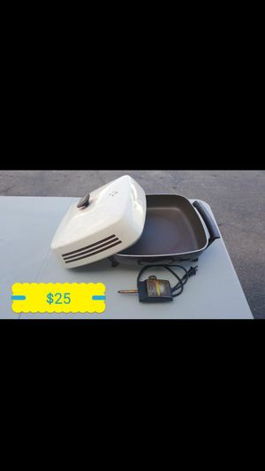 ELECTRIC COOKING PAN for Sale in Houston, TX