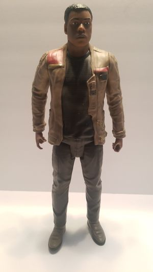 """Star Wars Finn figure 19"""" moveable arms & legs; excellent condition for Sale in Kyle, TX"""