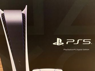 PS5 Digital New In Box With Original Receipt for Sale in Little Ferry,  NJ