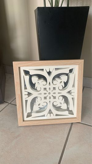 Brand new home decor 11x11 just have 1 frame for Sale in Colton, CA