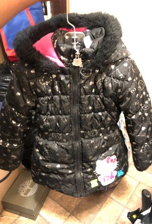 Hello Kitty winter coat size toddler 5 for Sale in Dearborn, MI