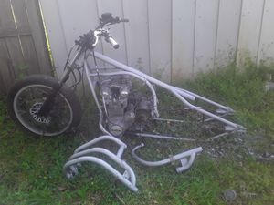 1981 Suzuki Motorcycle frame, engine, & parts for Sale in Oxford, GA